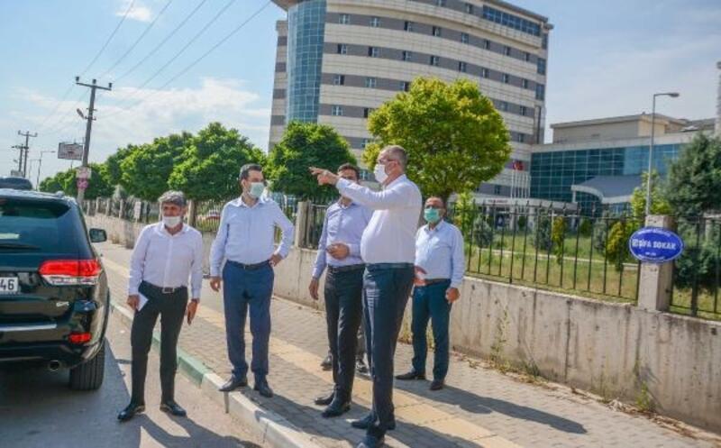 Karacabey'de yeni bağlantı yollarıyla yaya ve sürücüler için kolaylık