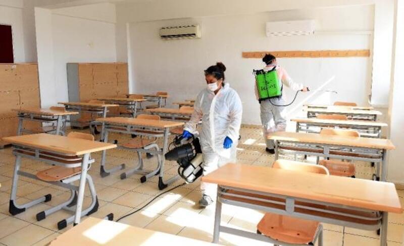 Okullarda sınav hazırlığı