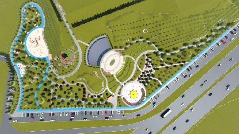Sivas'ta Gültepe'ye 55 dönümlük park