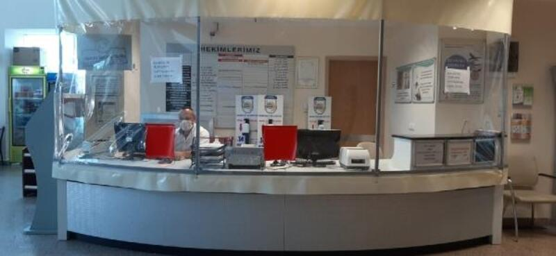 Babaeski Devlet Hastanesinde koronavirüs tedbirleri artırıldı
