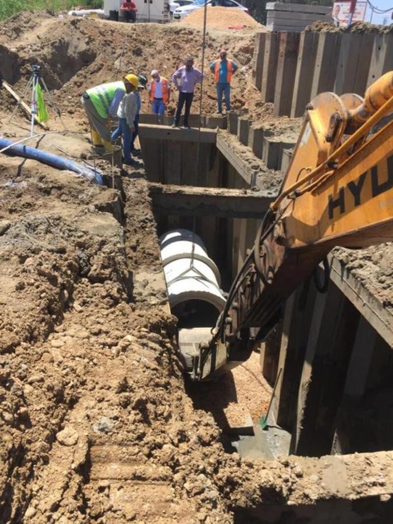 Manavgat'ın kanalizasyon sorunu çözülüyor