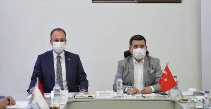 Pamukkale Belediyesi Akdeniz Belediyeler Birliği Encümen Toplantısı'na ev sahipliği yaptı
