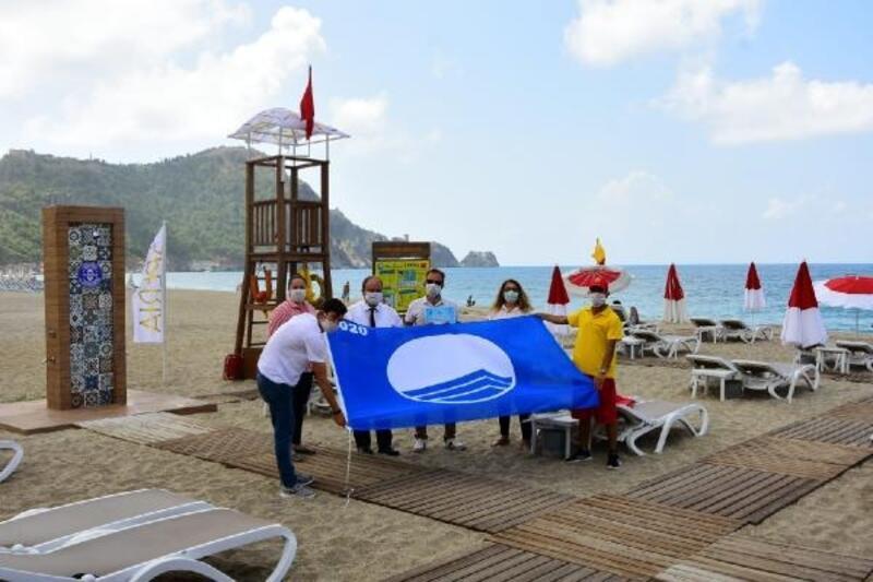 Alanya'daki otel Mavi Bayrak aldı