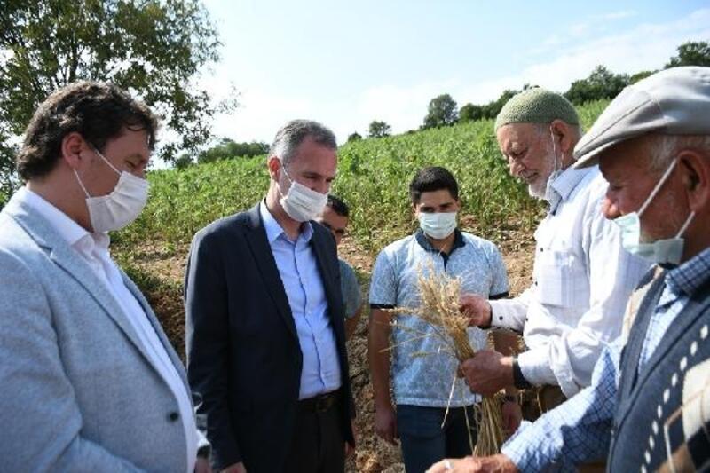 İnegöl Belediyesi'nde sel mağduru çiftçilere tohum desteği