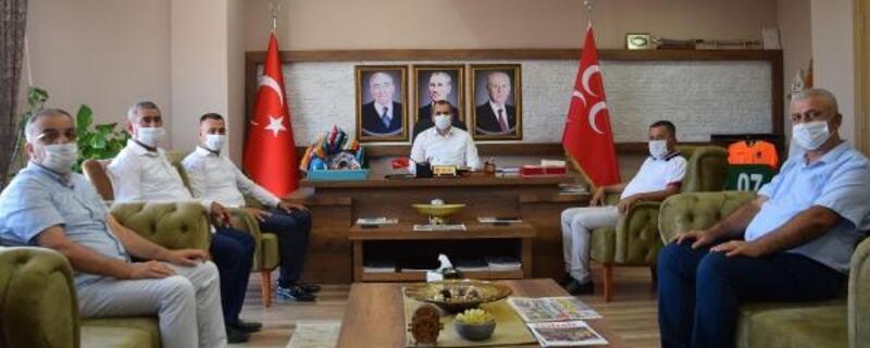 STK temsilcilerinden Durgun'a ziyaret