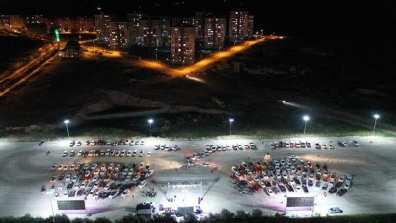 Nevşehir'de 'Arabada Sinema' etkinlikleri sürüyor