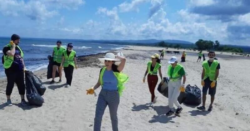 Doğaya Dönüş Derneği, Longoz Ormanları'nda atık topladı