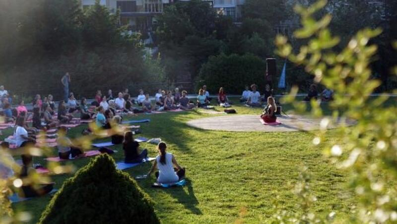 Parklarda 'Stresle Topyekün Mücadele Hareketi' başlıyor