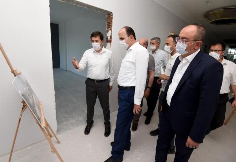 Karatay'ın yatırımları başkanlar tarafından yerinde incelendi