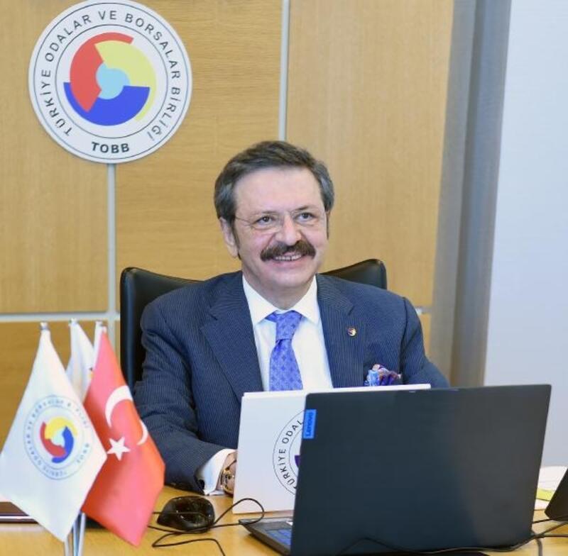 TOBB Başkanı Hisarcıklıoğlu: Pandemi sürecinde Oda ve Borsalarımız büyük bir sınav verdi