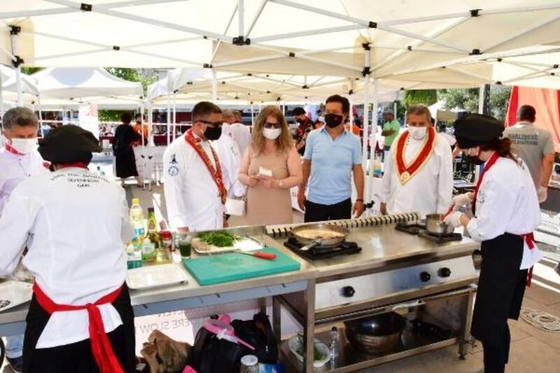Narlıdere'de yerel lezzetler yarıştı
