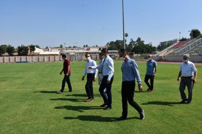 Gençlik ve Spor İl Müdürü Demir, Tarsus'ta incelemelerde bulundu