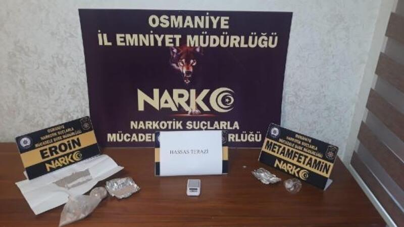 Osmaniye'de narkotik operasyonuna 2 tutuklama