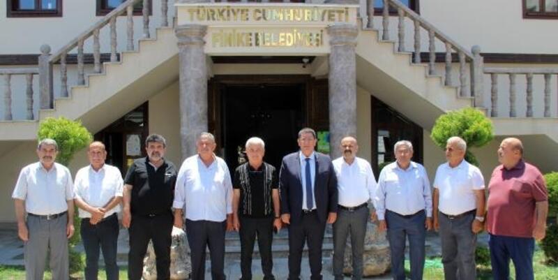 AESOB'dan Başkan Geyikçi'ye teşekkür ziyareti