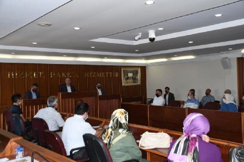 İnegöl Belediye Başkanı Taban, mali hizmetler personeliyle buluştu