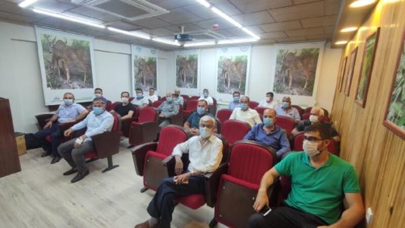 Avcılar kulüp başkanları Osmaniye'de bir araya geldi