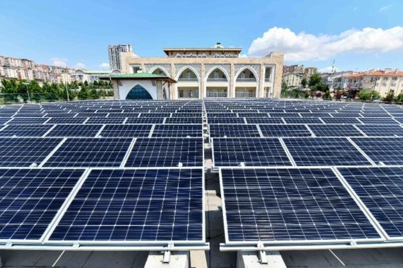 Güneş enerjisi panelleri ile 150 bin TL tasarruf