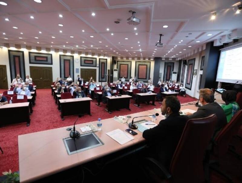 Melikgazi meclisinde 20 gündem maddesi karara bağlandı