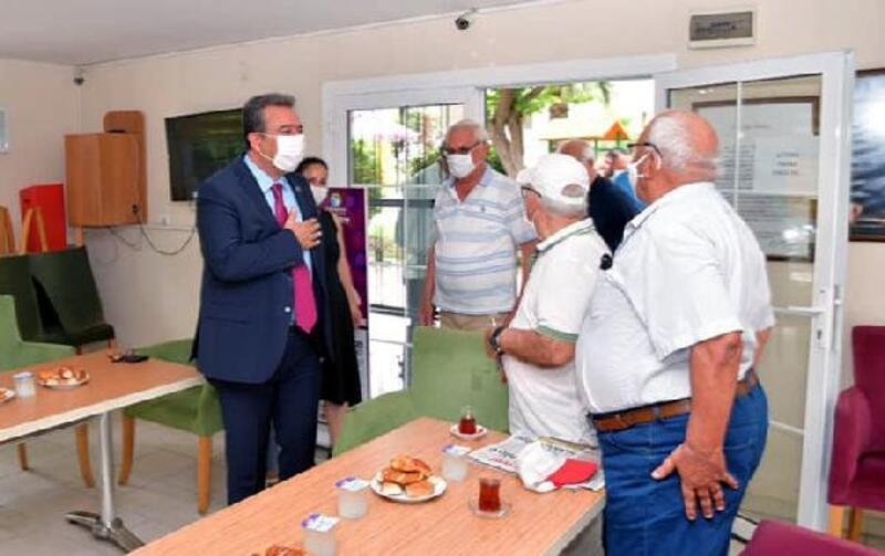 Emeklilere sosyal mesafe uyarısı