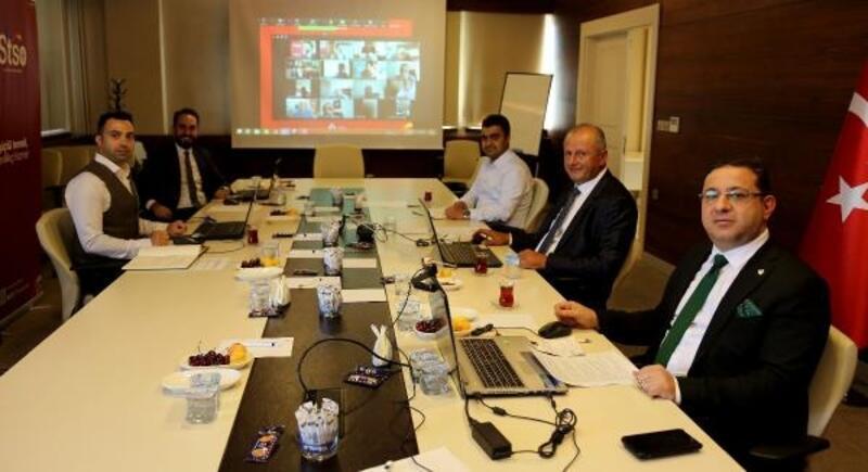 Başkan Eken, kararname konusunda Hisarcıklıoğlu'ndan destek istedi