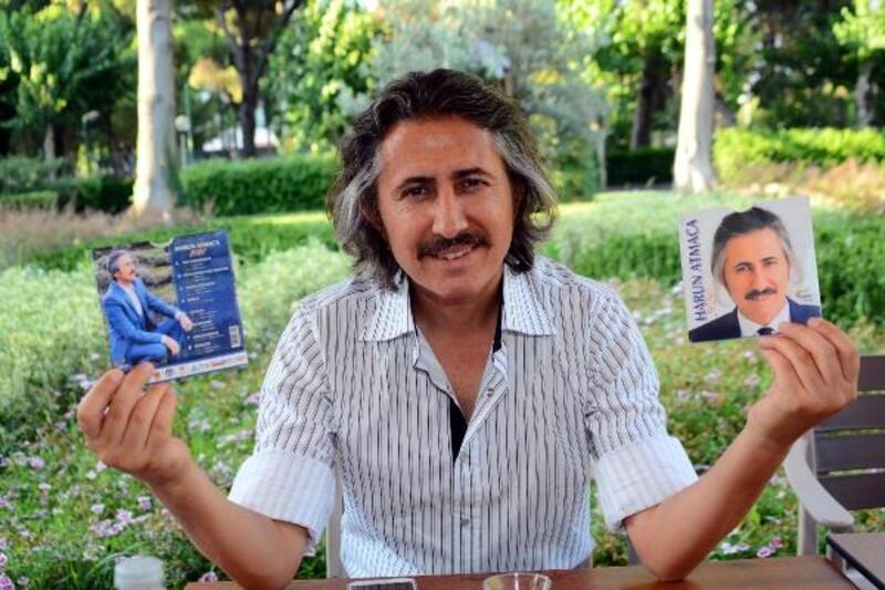 Harun Atmaca'nın yeni albümü müzik marketlerde