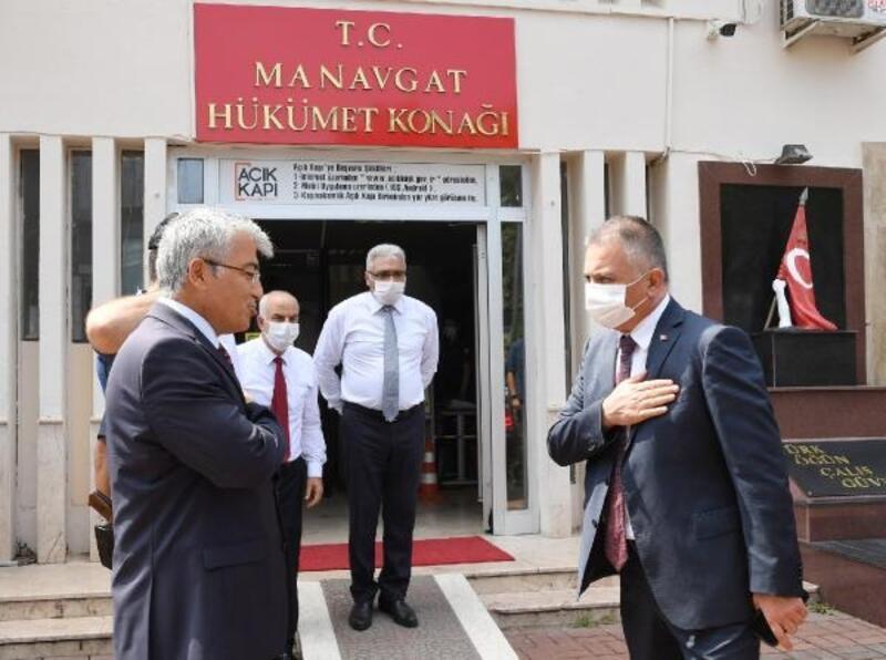 Vali Yazıcı Manavgat'ta
