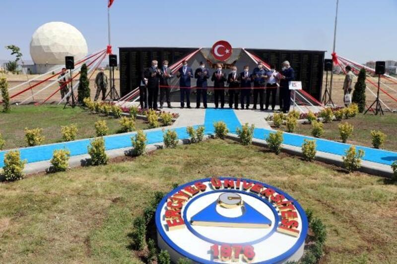 Kayseri'de 15 Temmuz Şehitler anıtı açıldı
