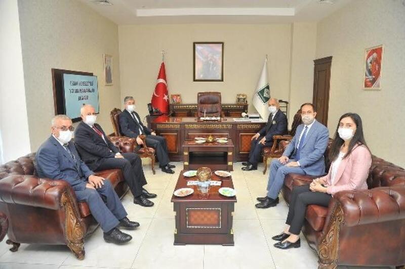 Vali Yılmaz'dan Başkan Kara ve Rektör Türk'e ziyaret