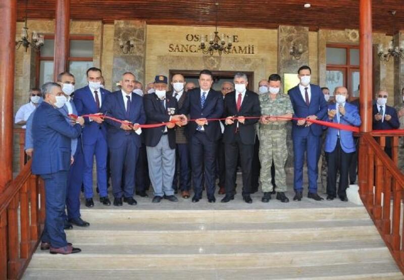 Osmaniye Sancaklı Cami törenle açıldı