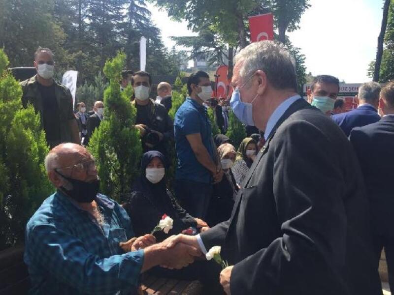 Başkan Mansur Yavaş, 15 Temmuz şehitlerini andı