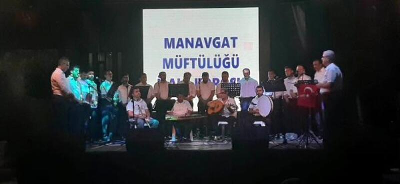 Manavgat'ta 15 Temmuz anması