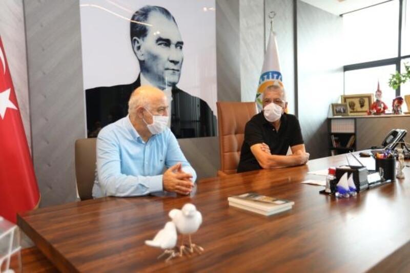 MTSO'dan Başkan Tarhan'a ziyaret