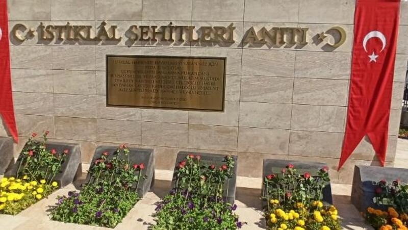 Çorum'da İstiklal Şehitleri Anıtı açıldı