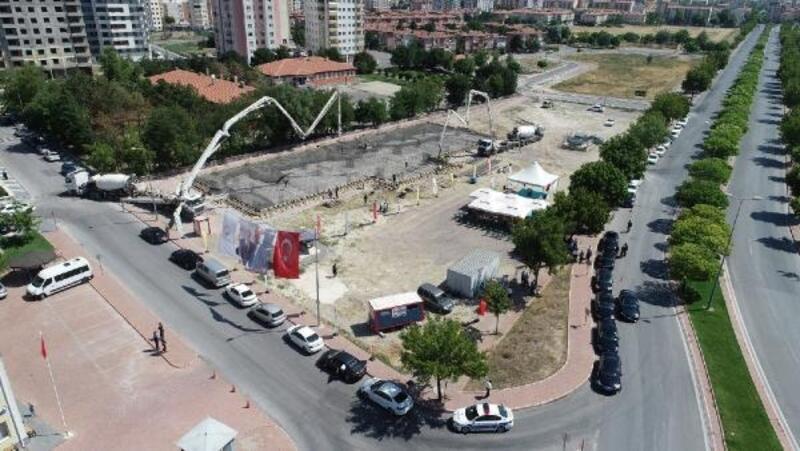 Kayseri'de 2 okulun temeli atıldı