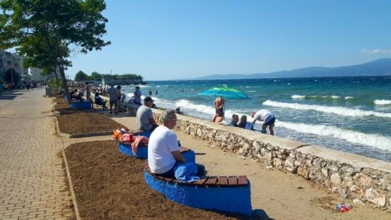 Mudanya'da sahiller yenilendi