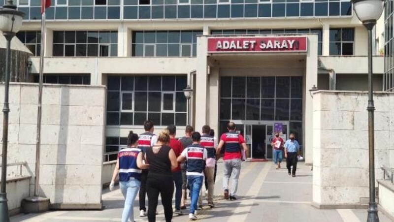 Osmaniye'de uyuşturucu operasyonunda 5 kişi tutuklandı