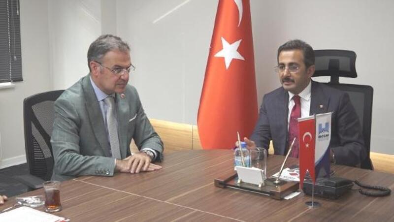 Bakan Yardımcısı Aksu'dan Hacılar Belediyesine ziyaret