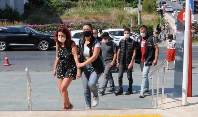Alanya'da uyuşturucu operasyonuna 4 tutuklama