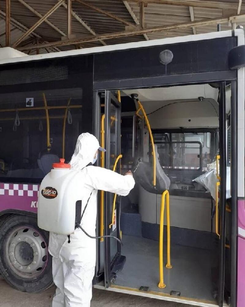 Turhal'da dezenfekte çalışmaları