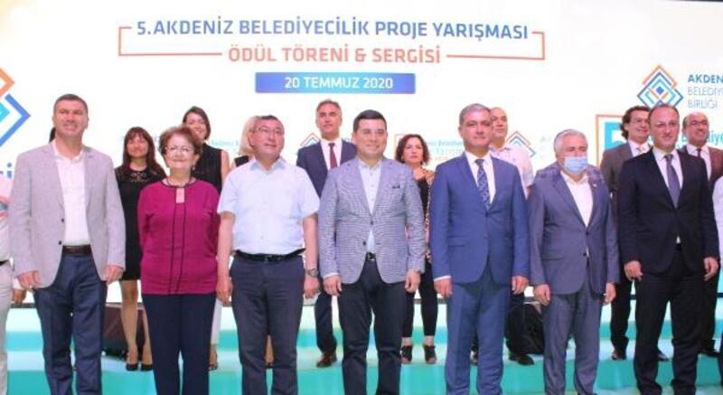 Akdeniz belediyeleri ödüllendirildi