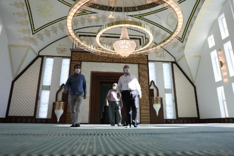 Başkan Palancıoğlu, Cavit Yurttaş Camisini inceledi