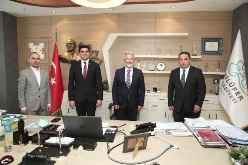 İstanbul Büyükşehir Belediyesi ile Nilüfer Belediyesi işbirliği olanaklarını değerlendirdi