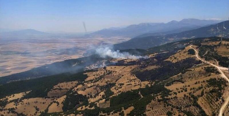 Nurdağı'nda 3 hektarlık makilik alan yandı