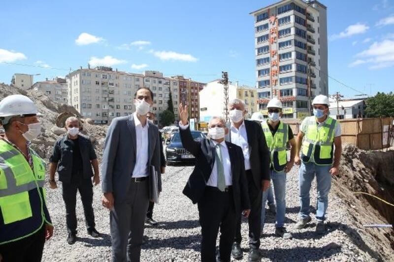 Başkan Büyükkılıç, Sahabiye kentsel dönüşüm projesini inceledi