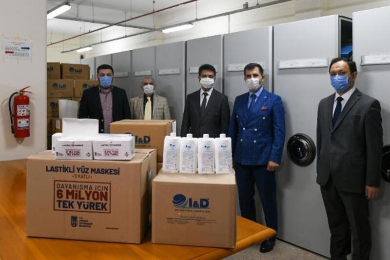 Ankara Büyükşehir Belediyesi'nden Özbekistan'a hijyen desteği