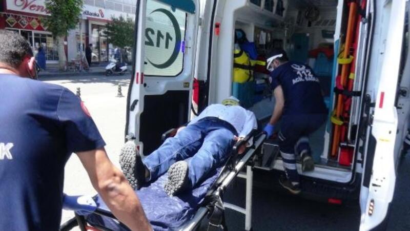 Otomobilin çarpıp kaçtığı yaya yaralandı