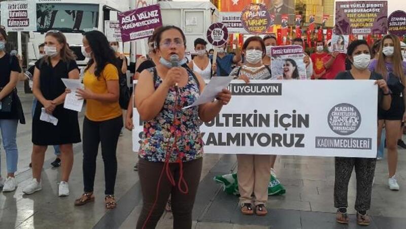 Aydınlı kadınlar, Pınar Gültekin katledilmesini protesto ettiler