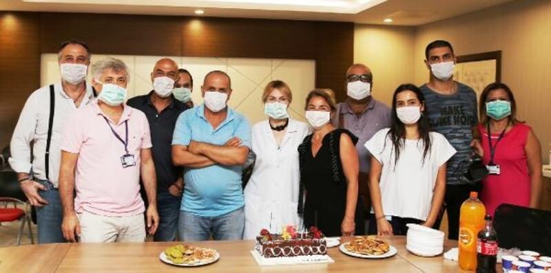 Özkan çifti, Basın Bayramını kutladı