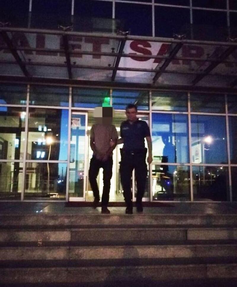 Edirne'de kablo hırsızı tutuklandı