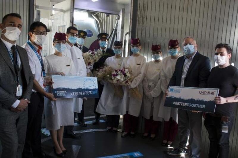 Sabiha Gökçen'den Katar uçuşları yeniden başladı